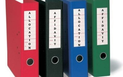What is the Difference Between Affidavit and Allocation