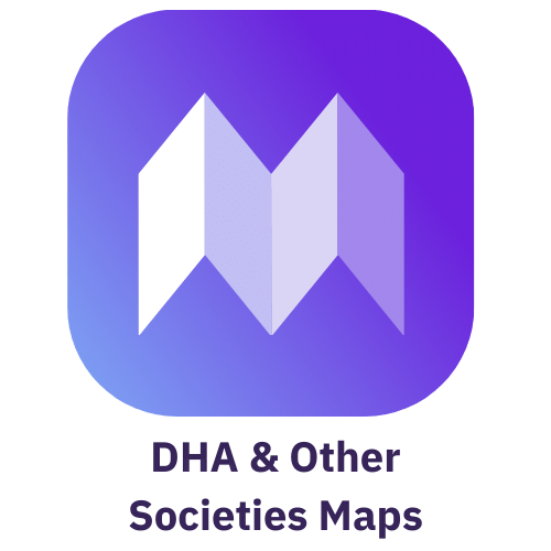 DHA Maps & other societies maps